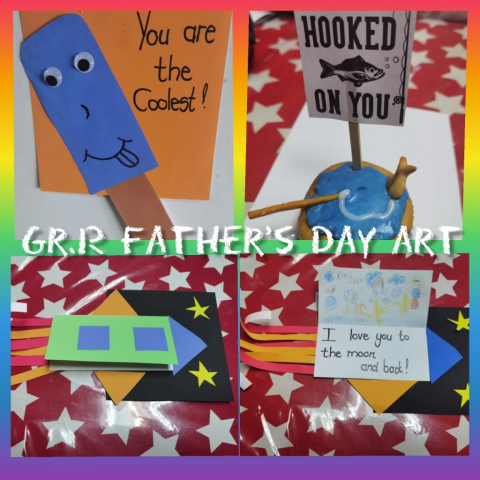 Grade R Fathers Day Craft