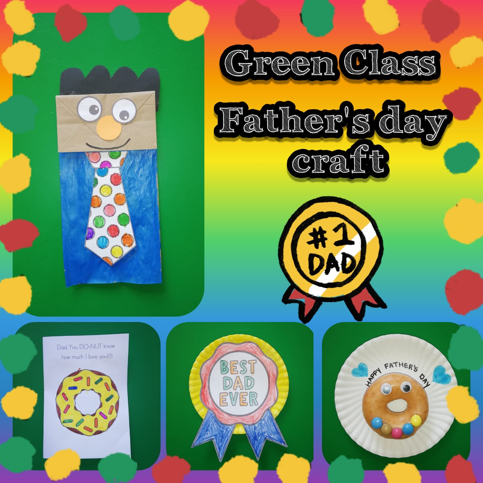 Green Class Fathers day