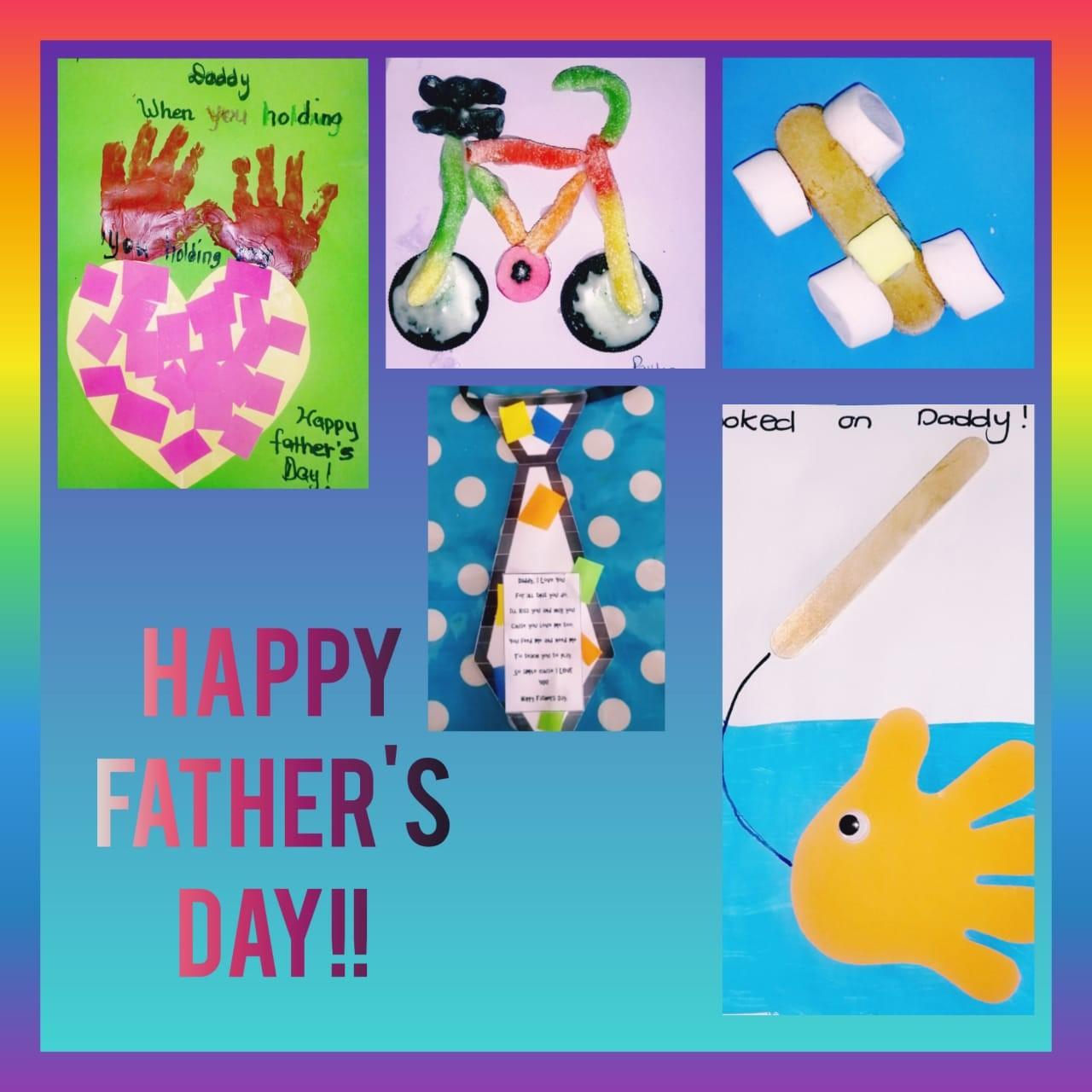 Red Class Fathers Day